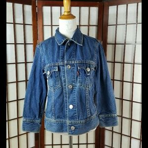LEVI'S TYPE 1 JEAN ICONIC JACKET
